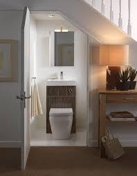 Really Small Bathroom Ideas Small Bathroom Design With White Ceramic Water Closet Under White