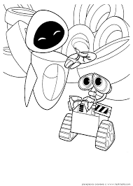 walle coloring pages walle eve coloring fat teen boy