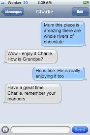 Iphone Text Memes - app of the day iphone text meme what would charley bucket text