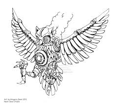 traditional owl tattoo design in 2017 real photo pictures