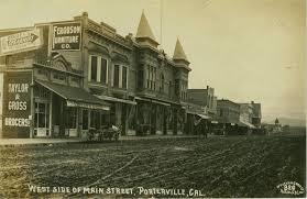 Barn Theater Porterville Main Street Porterville Ca Circa 1910 It Appears That This