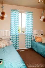 chevron curtains the ribbon retreat blog