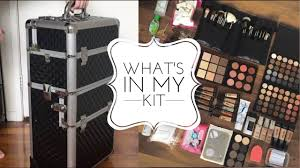 Makeup Kits For Makeup Artists What U0027s In My Freelance Mua Starter Kit Becoming A Makeup Artist