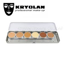 kryolan professional makeup wholesale kryolan ultra foundation palette high coverage corrective