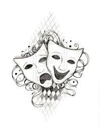 best 25 drama masks ideas on pinterest theater tattoo mask
