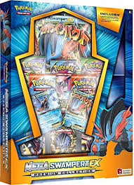 amazon black friday deals for pokemon packs amazon com pokemon tcg mega swampert ex evolution premium
