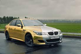 bmw e60 gold golden lightning m5 bmw cars carlook