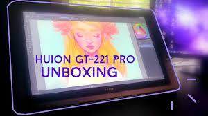 amazon black friday deals huion huion kamvas gt 221 pro unboxing youtube