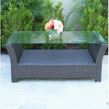 Wicker Patio Coffee Table Outdoor Coffee Tables You Ll Wayfair