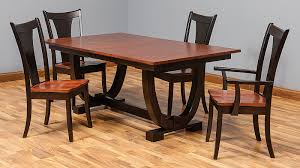 amish table and chairs top furniture northern nh daniel s amish heirloom furniture made