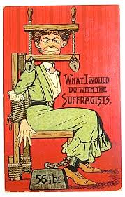 anti suffragette postcards posters history of feminism