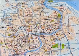Shanghai Subway Map by Shanghai Metro Map Maps Of Shanghai