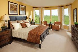 Brown And Blue Wall Decor Master Bedroom Decor Ideas Beautiful Interior With Large Windows