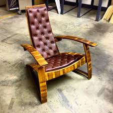 Wine Barrel Rocking Chair Plans Leather Barrel Chairs Wine Barrel Furniture Ideas You Can Diy Or
