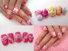diy 3d nail art go to drug store or beauty supply store and buy a