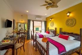 Twin Bed Room Superior Twin Bed Room Beyond Yangon Boutique Inn Siem Reap