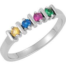 ring with birthstones 92 best mothers rings images on rings