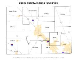 Cleveland Zip Code Map Township Maps Stats Indiana
