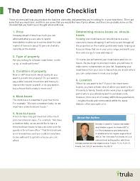 prioritize u2013 your dream home checklist tracy vinson