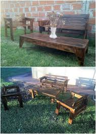 Diy Wood Pallet Outdoor Furniture by 100 Patio Furniture Wood Pallets Home Design Pallet Patio
