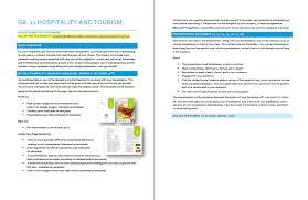 brochure rubric template student portal the pomegranate restaurant
