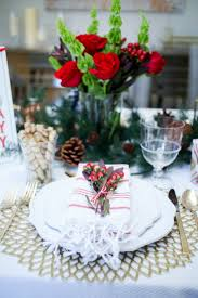 christmas table three table setting ideas fashionable hostess