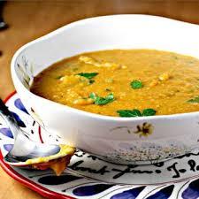 lentille cuisine soupe de lentille corail au cumin et curry recettes de cuisine