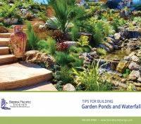Backyard Waterfalls Ideas How To Build A Pondless Water Feature Modern Outdoor Fountains