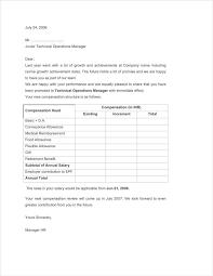 12 different performance appraisal letters free u0026 premium templates