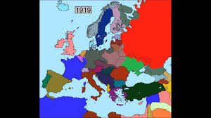Map Of Europe 1939 Blank by The Interwar Period Youtube