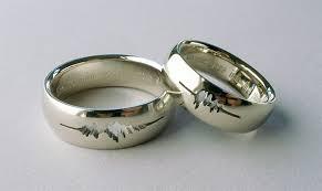 japanese wedding ring sound wave i do wedding rings