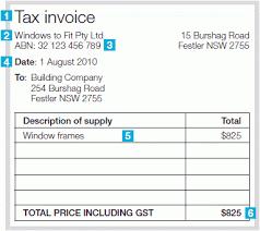 free invoice templates australia tax invoice tax invoice samples
