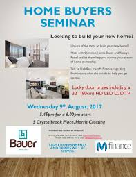 New Home Construction Steps by New Home Builder Townsville Bauer Constructions