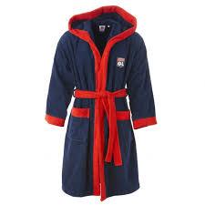 robe de chambre junior peignoir capuche enfant nous sommes l olympique lyonnais olympique