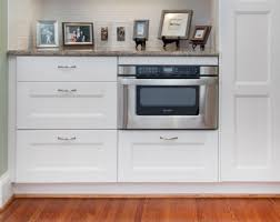 placing a microwave on or under a counter is a practice in