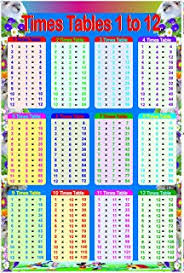 Times Tables 1 12 Times Table 1 12 Amazon Co Uk Don Cunningham 9781904217015 Books