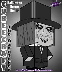 halloween horror nights the caretaker cubeecraft skgaleana