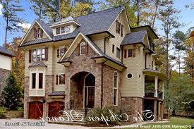 Gorgeous Inspiration Mountain House Plans With Front View 12 Lake