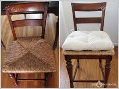 maybe a diy seat cushion project for the wooden dining table