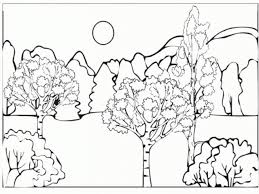 forest coloring pages coloringsuite com