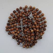 15 decade rosary rosary 15 decade olive wood the square gift store ltd