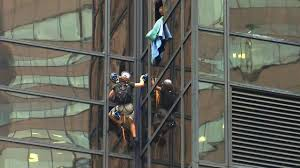 Trump Towers Address Man Climbs Trump Tower In Manhattan With Suction Cups Police Pull