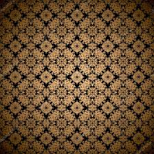 gold leaf wallpaper u2014 stock vector nicemonkey 3424977