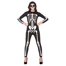 Ladies Skeleton Halloween Costume by Halloween Women U2013 Cwmbran Fancydress