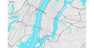 New York Safety Map by Spring Into Cycling With Mapzen U0027s New Bike Map Mapzen