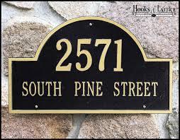 address plaques address signs decorative home address signs
