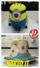 nailed it meme 016 minion cake comics and memes