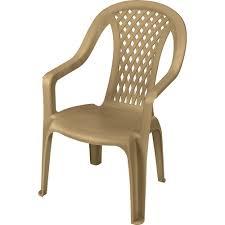 High Back Plastic Patio Chairs Us Leisure Montego High Back Dune Walmart