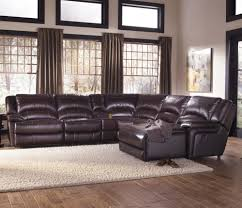 Sofa Sectional Leather Furniture Amazing Leather Reclining Sectional Sofa Design