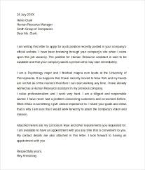 sample professional cover letter 8 documents download in pdf